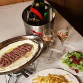 Entrecot Café de Paris + Champagne Mumm