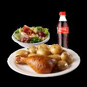 Combo 7 light 1/8 - 1/8 de pollo asado, 1 porción de papa perejil,