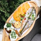 Дорада grilled whole fish з базиліковим песто (250/300г)*