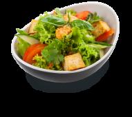 Салат з сиром тофу і овочами (185г)
