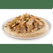 Hummus shawarma