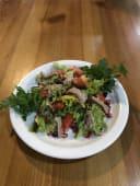 Салат з телятини та квасолі з горіховою пастою (200г)