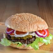 Burger Igraszki z Diabłem Czerwony diabeł XXL