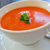 Sopa de tomate dhaniya shorbha (sin lactosa y gluten)