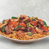 Chao mein mixto al wok