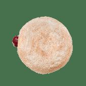 სამარხვო დონატი კენკრის ჯემით - Fasting donut with berries jam