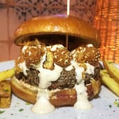 Burger conchal city (150 g.)