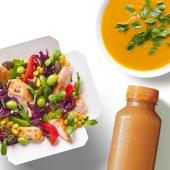 Zestaw Box Kurczak Chilli z zupą i sokiem