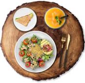 Comida Ensalada + Sandwich + Refresco