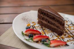 Tort Ganache de ciocolata