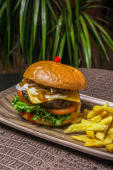 Safari Burger (Cebra)