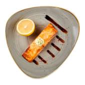 Стейк лосося с кукурузным пюре (250г)