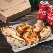 Promo 6 empanadas argentinas + 2 bebidas