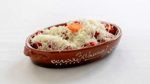 Paradajz salata ca sirom