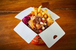 Kebab box - mieszane mięso