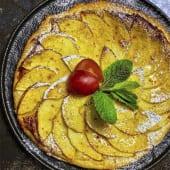 Яблочний пиріг з заварним кремом