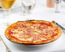Pizza al prosciutto cotto - 20/22 cm