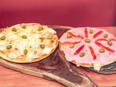 Promo pizza especial + muzzarella