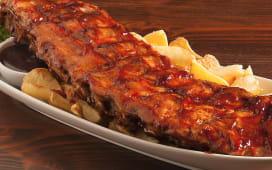 BBQ ribs 1/2 baffa