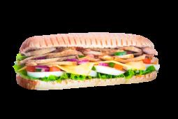 Sándwich de pata de cerdo asada (grande)
