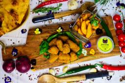 Meniu avocado mozzarella + o doza Pespi (330ml)