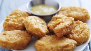 12 Nuggets De Pollo Con Rebozado Tradicional