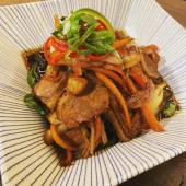 Pato hoisin al wok