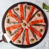 Pizza de jamón especial