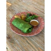 Wrap verde sin gluten