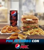 Combo Campeón (Menú Pans Experience + 2 complementos)