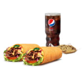 Menu Wrap Steak & Cheese