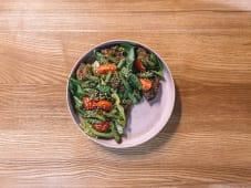Теплий салат з печінкою (300г)