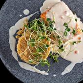 Філе лосося з кус-кусом (240г)
