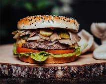 Boczniak Burger