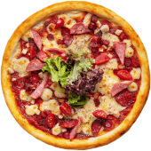 Піца 4 м'яса (450г)