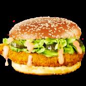 Șnițel Vienez din piept de pui sandwich
