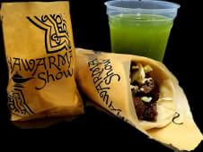 Glovo WOW: Shawarma de Kafta de Cordero , papas y limonada