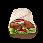 Falafel vege tortilja – velika