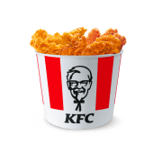 Bucket 3pz Tender O.R. + 6pz Tender Crispy + 9pz Hot Wings + 2 salse