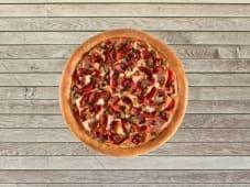 Pizza Double Carnivore - Pâte Traditionnelle