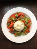 Бурата з в'яленими томатами та томатами чері (350г)