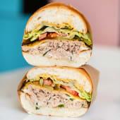 Sándwich tuna melt