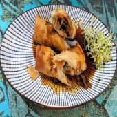 Rollitos de pato y verduras (2 uds.)