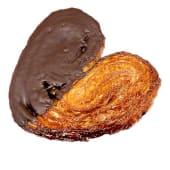 Palmera de hojaldre de chocolate