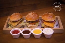 Menu Trio Mini Burger