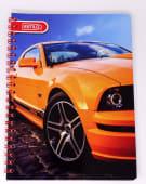 Cuaderno Espiral A4 100Hjs Cuadricula 3X3 Economico Estilo