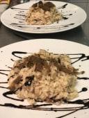 Risotto porcini, monte veronese e tartufo a scaglie-2 porzioni
