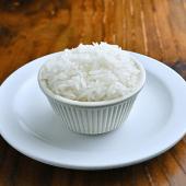 Orden de arroz blanco