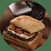 Monkey Sandwich + Café o Latte