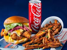 Menu Burger + Side + Boisson